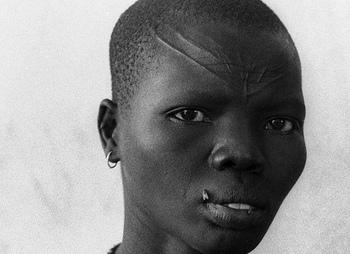 Dinka woman
