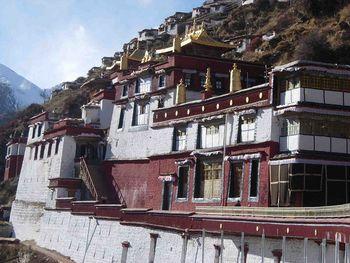 Drigung monastery in Tibet