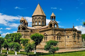 The Mother Cathedral in Etchmiadzin, Armenia