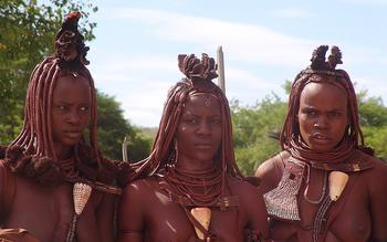 Himba women (photo by Charles Fred)