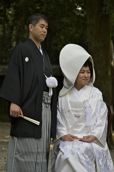 Japanese newlyweds