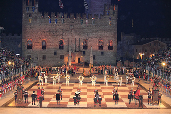Chess game in Marostica, Italy (photo by Patrick Keogh)