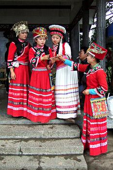 Tujia women