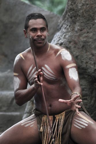 Aborigine (photo by Steve Evans - babasteve)