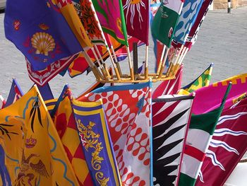 Banners of Palio di Siena