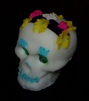 Calavera made of sugar