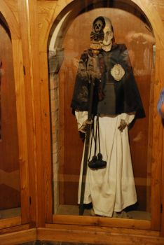Mummified body of Vincenzo Piccini