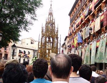 Corpus Christi procession in Toledo