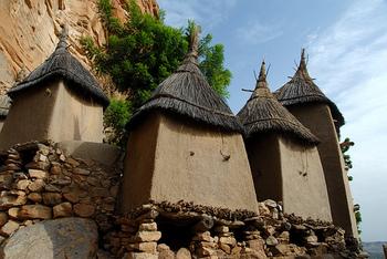 Dogon granaries