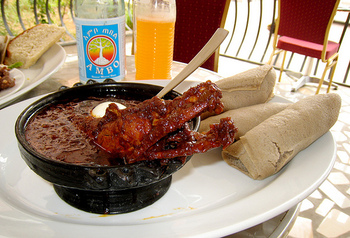 doro wat and injera recipe doro wat with quick injera injera and doro ...