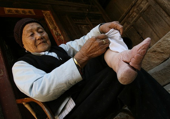 foot binding in China