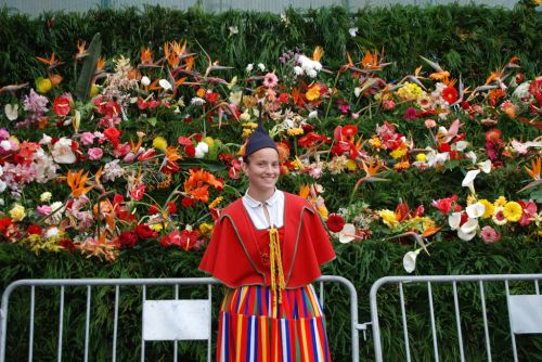 Flower Festival in Funchal, Portugal<br />