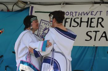 Inuit throat singing