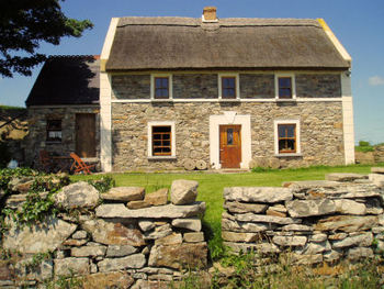 traditional Irish house