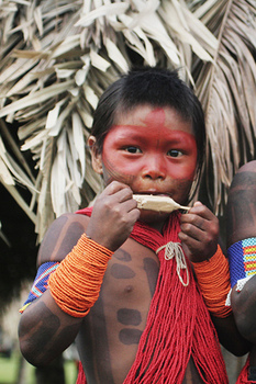 Kayapo child