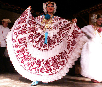 La pollara dress of Panama