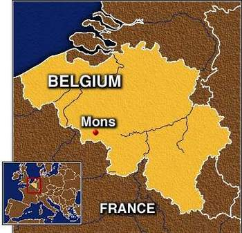 Mons in Belgium