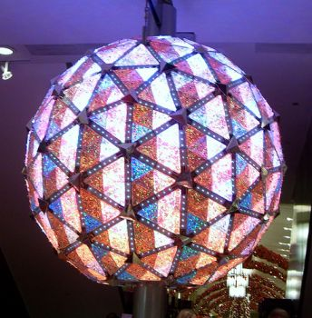 New Year's Eve Ball in New York